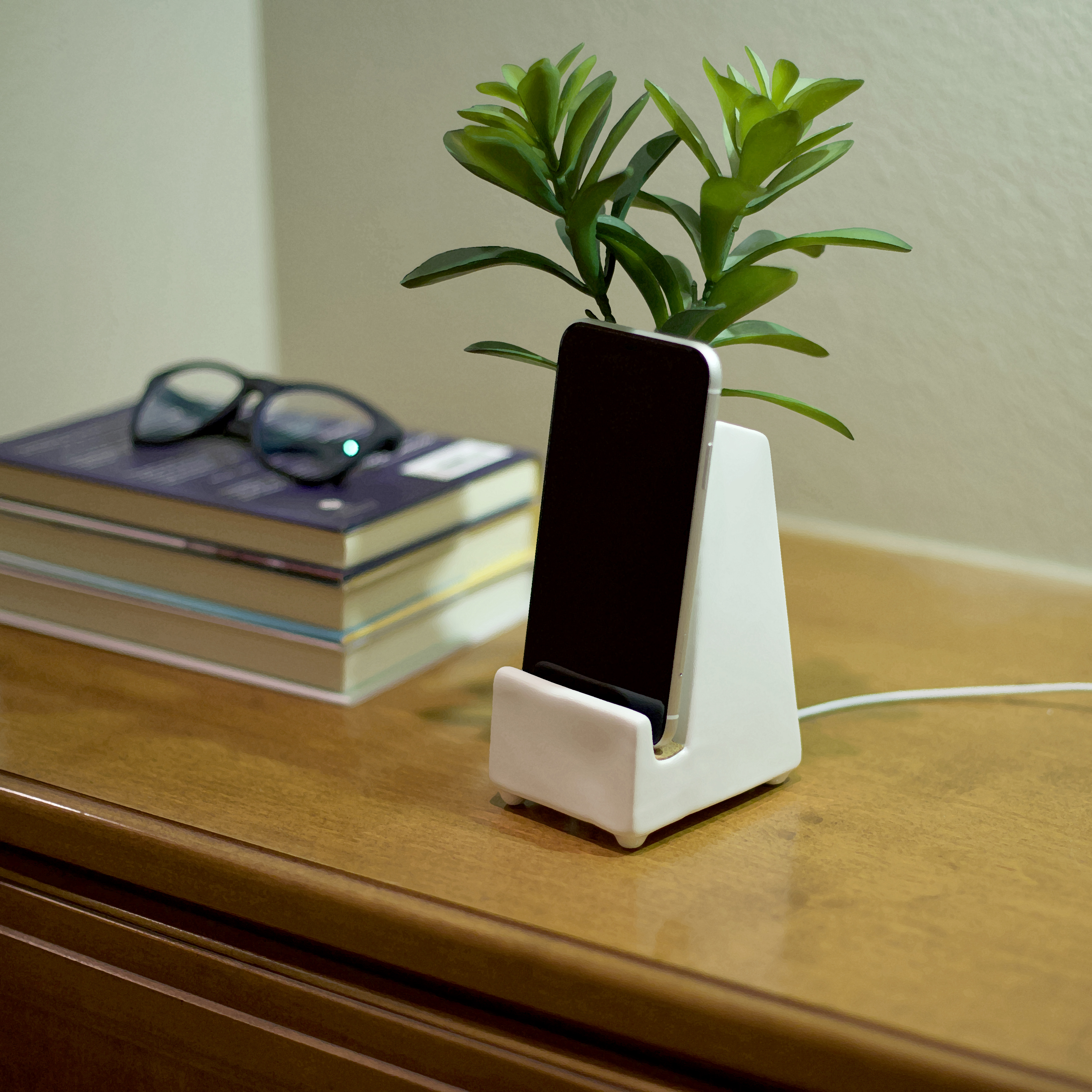 bedside phone stand